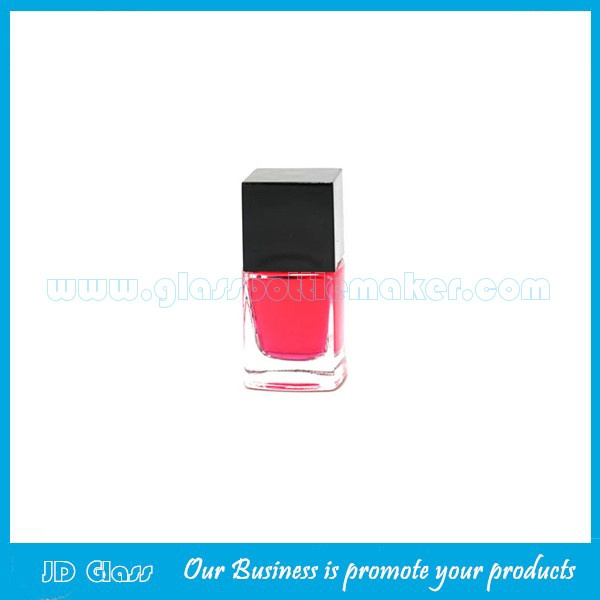 6ml Clear Glass Nail Polish Bottle With Cap and Brush