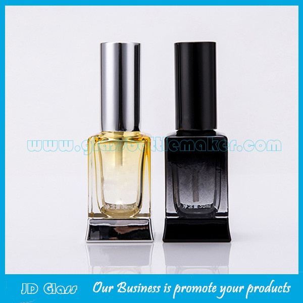 New Design 30ml Colored Glass Essence Dropper Bottles