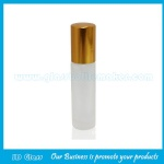 8ml Frost Perfume Roll On Bottle With Gold Cap and Roller