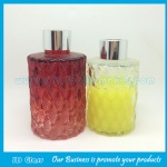 80ml,120ml Colored Aromatherapy Glass Bottles With Silver Cap