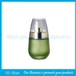 30ml Green Frost Glass Baby Cream Bottle With Pump