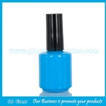 15ml Round Colored Glass Nail Polish Bottle With Cap and Brush