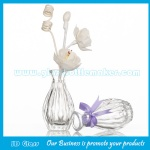 100ml Clear Glass Fragrance Bottle With Reed Rattan