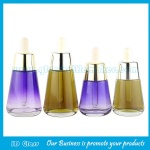 30ml,50ml Color Painting Glass Essence Bottles With Droppers