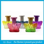 20ml Colored Glass Perfume Bottle With Cap and Sprayer