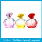 35ml High Quality Colored Painting Perfume Glass Sprayer Bottle With Cap