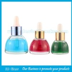 15ml, 20ml,30ml Claer Glass Essence Bottles With Droppers