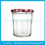 New Item Glass Jam Jar With Lid